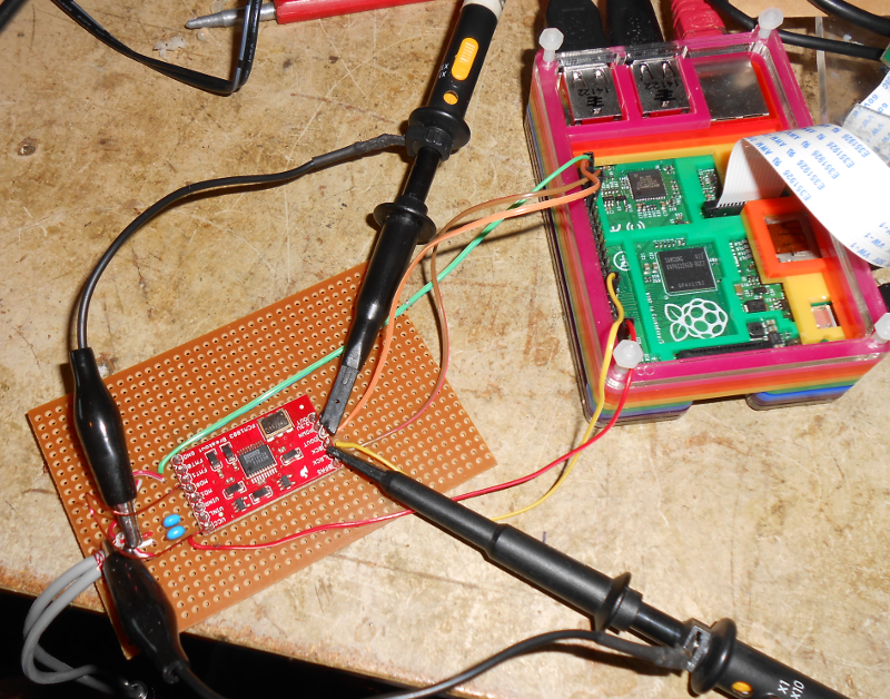 Raspberry Pi Audio Adc